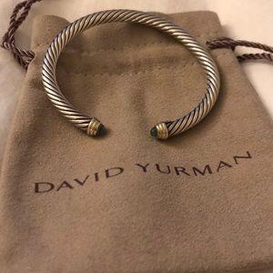 David yurman cuff blue topaz cuff
